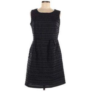 Cynthia Rowley Embellished Black Sheath Dress
